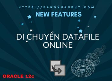 Di chuyển datafile online