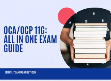 Ebook OCA OCP 11g All in One Exam Guide