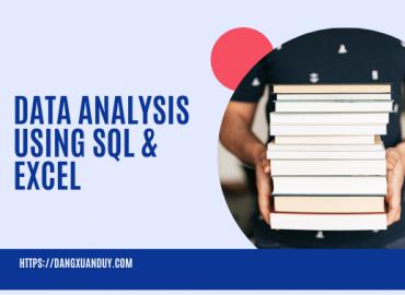 Ebook Data analysis using sql & Excel